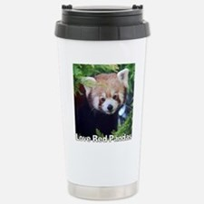 Love Red Pandas Travel Mug