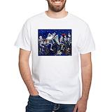 Muertos Mens White T-shirts