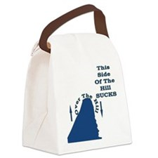 Downhill from here Canvas Lunch Bag