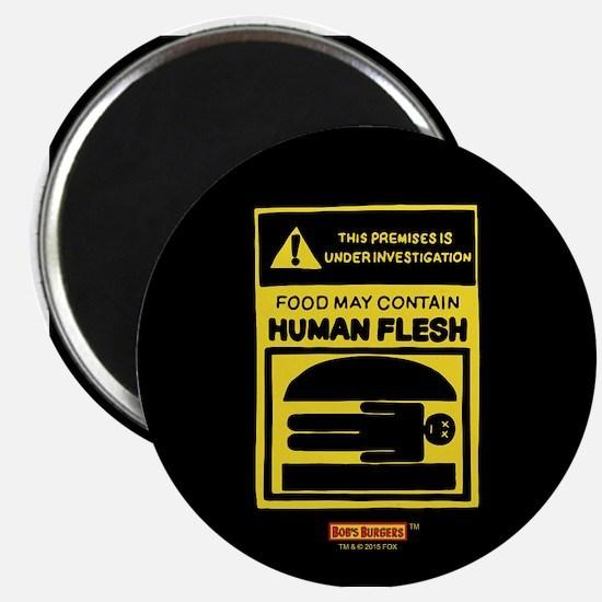 Bob's Burgers Human Flesh Magnet