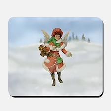 Beautiful Christmas Angel Mousepad