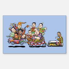 GOP Clown Car 10-'15 Decal