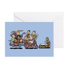 GOP Clown Car 10-'15 Greeting Card