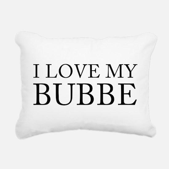 lovemybubbe.png Rectangular Canvas Pillow