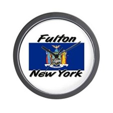 Fulton New York Wall Clock
