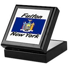 Fulton New York Keepsake Box