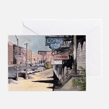 American Street Greeting Card