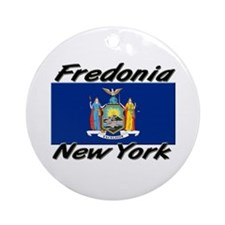 Fredonia New York Ornament (Round)
