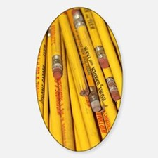 Pencils Sticker (Oval)