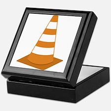 Traffic Cone Keepsake Box
