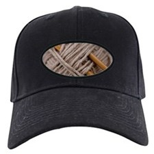 Knitting Needles Baseball Hat