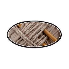 Knitting Needles Patch