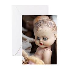 Antique Dolls Greeting Card