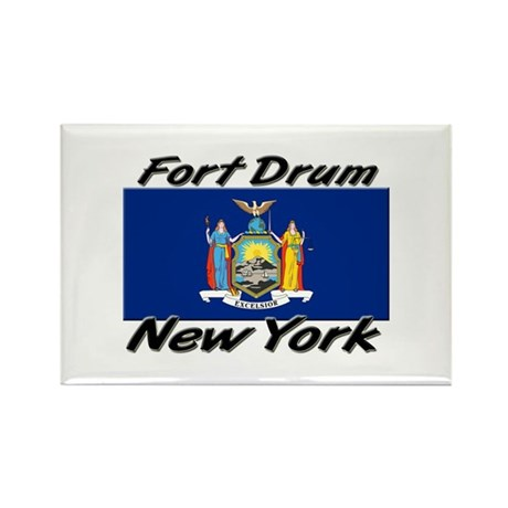 Fort Drum New York Rectangle Magnet