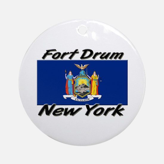 Fort Drum New York Ornament (Round)