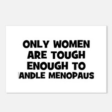 Only Women are tough enough t Postcards (Package o