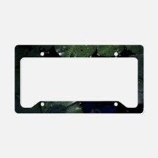 Pond Flower License Plate Holder