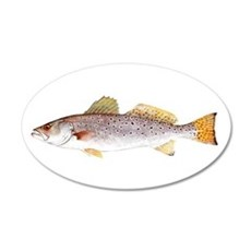 Speckled Trout Wall Decal