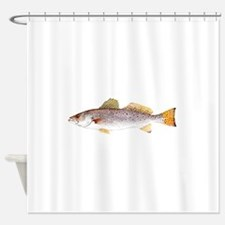 Speckled Trout Shower Curtain
