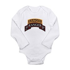 Cute Army ranger Long Sleeve Infant Bodysuit