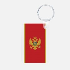 Flag of Montenegro Keychains