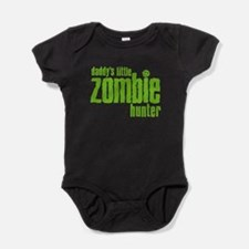 Cute Girl and the zombie Baby Bodysuit