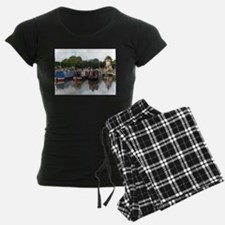 Stratford Upon Avon barges Pajamas