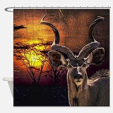 Antelope Sunset Shower Curtain