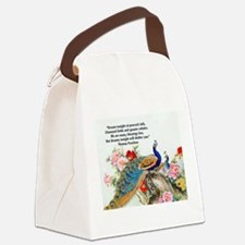 Cute Exotic Canvas Lunch Bag