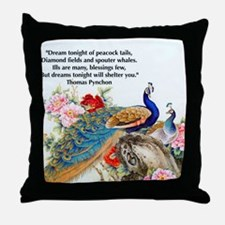 Funny Exotic Throw Pillow