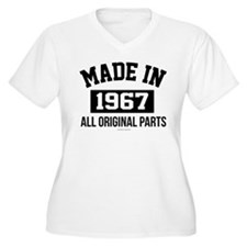 Made in 1967 Plus Size T-Shirt