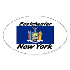 Eastchester New York Oval Decal