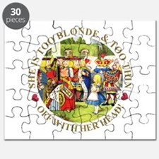 She's Too Blonde & Too Thin! Off With Her H Puzzle