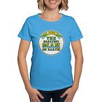 Religion / Scam Women's Dark T-Shirt