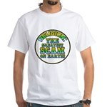 Religion / Scam White T-Shirt