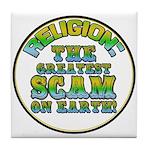Religion / Scam Tile Coaster