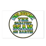 Religion / Scam Postcards (Package of 8)