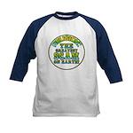 Religion / Scam Kids Baseball Jersey