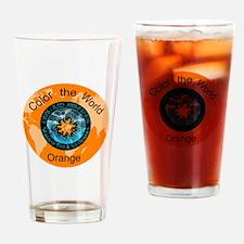 Color the World Orange CRPS RSD Awareness Drinking