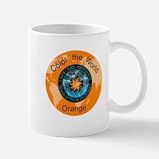 Color the World Orange CRPS RSD Awareness Mugs