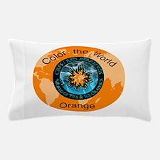 Color the World Orange CRPS RSD Awareness Pillow C