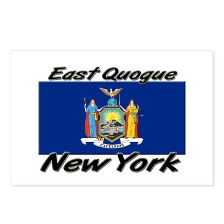 East Quogue New York Postcards (Package of 8)