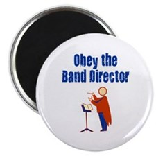 Obey the Band Director Magnet