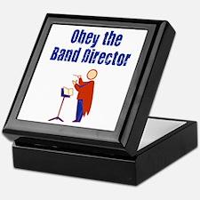Obey the Band Director Keepsake Box