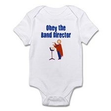Obey the Band Director Infant Bodysuit