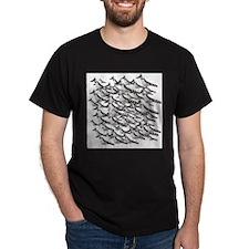 Unique Flock of birds T-Shirt