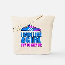 Run Like a Girl II Tote Bag