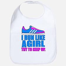 Run Like a Girl II Bib