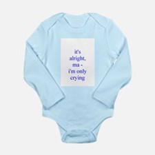 Cute Rock Long Sleeve Infant Bodysuit