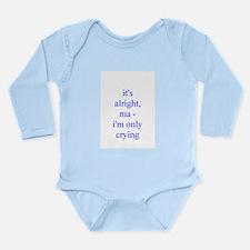 Cute Kids rock star Long Sleeve Infant Bodysuit